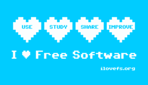 freie-software-i-love-free-software